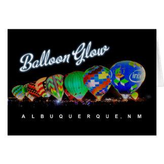 熱気の気球の白熱アルバカーキ、NM カード