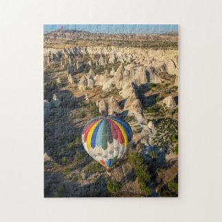熱気の気球の空中写真、Cappadocia ジグソーパズル