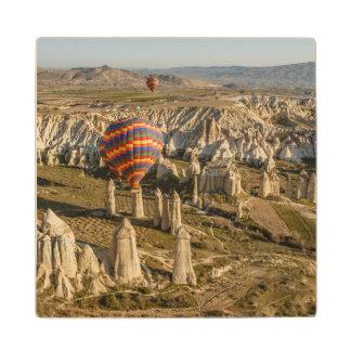熱気の気球の空中写真、Cappadocia 2 ウッドコースター