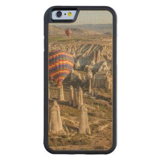 熱気の気球の空中写真、Cappadocia 2 CarvedメープルiPhone 6バンパーケース