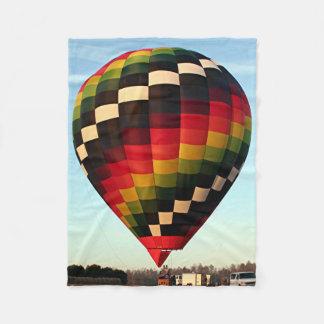 熱気の気球5 フリースブランケット
