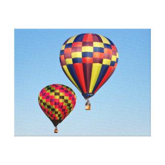 熱気の気球 キャンバスプリント