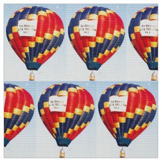熱気の気球 ファブリック