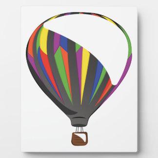 熱気の気球 フォトプラーク