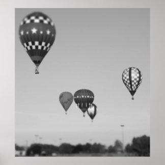 熱気の気球、気球のFest、Olathe、カンザス3 ポスター