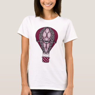 熱気の気球 Tシャツ