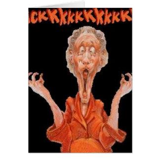 熱狂するなおばあさん カード