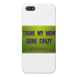 熱狂するなお母さんの服装 iPhone 5 ケース