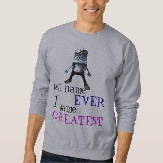 熱狂するなカエル スウェットシャツ