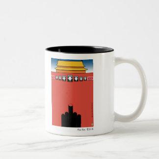 熱狂するなカニのマグ ツートーンマグカップ