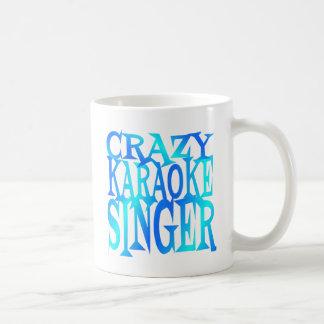 熱狂するなカラオケの歌手 コーヒーマグカップ