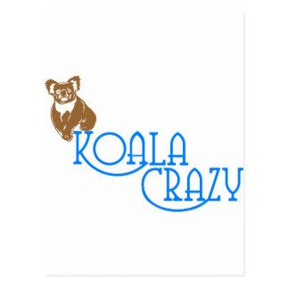 熱狂するなコアラ ポストカード