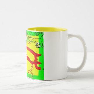 熱狂するなコップ ツートーンマグカップ