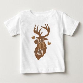 熱狂するなシカの女性 ベビーTシャツ