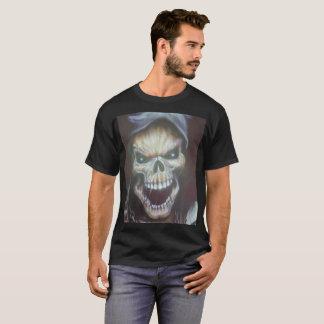 熱狂するなスカルのTシャツのプリント Tシャツ
