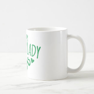 熱狂するなヘビの女性 コーヒーマグカップ