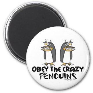 熱狂するなペンギンに従って下さい! マグネット