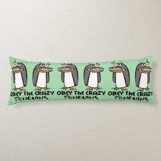 熱狂するなペンギンのグラフィック・デザインに従って下さい ボディピロー