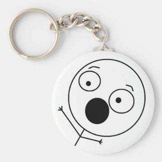 熱狂するな人Keychain キーホルダー