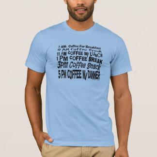 熱狂するな休憩のスケジュールのワイシャツ Tシャツ
