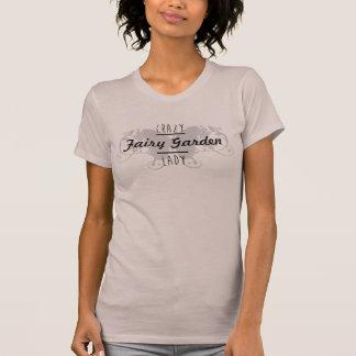 熱狂するな妖精の庭の女性のおもしろいな妖精のワイシャツ Tシャツ