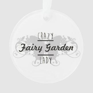 熱狂するな妖精の庭の女性の妖精のオーナメント オーナメント