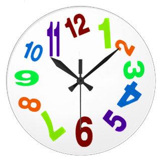 熱狂するな時計 ラージ壁時計