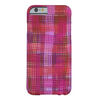 熱狂するな格子縞の電話箱 BARELY THERE iPhone 6 ケース