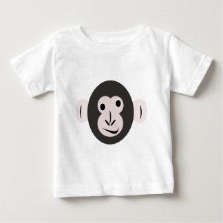 熱狂するな注目されたチンパンジーのTシャツ ベビーTシャツ