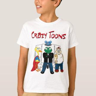 熱狂するな漫画のTシャツ Tシャツ