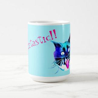 熱狂するな猫のマグ コーヒーマグカップ