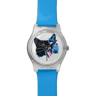 熱狂するな猫の腕時計 腕時計