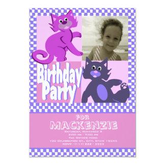 熱狂するな猫の誕生日の写真 カード
