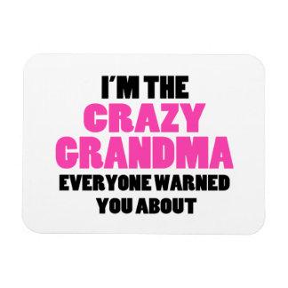熱狂するな祖母約警告されました マグネット