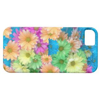 熱狂するな色のカーネーションとのiPhone 5の場合 iPhone 5 カバー