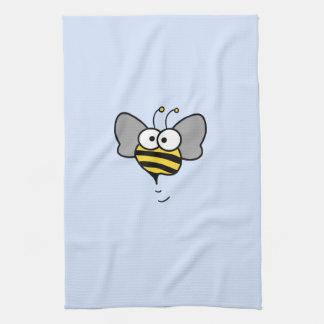 熱狂するな蜂 キッチンタオル