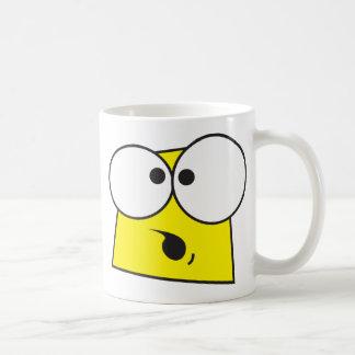 熱狂するな顔 コーヒーマグカップ
