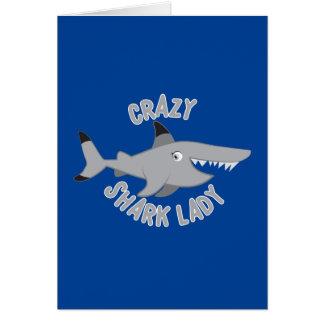 熱狂するな鮫の女性円 カード