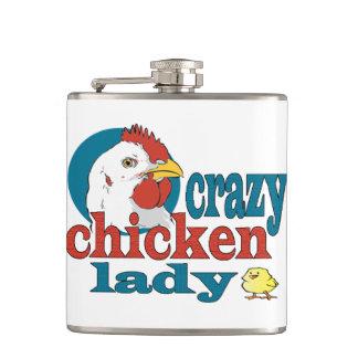 熱狂するな鶏の女性 フラスク