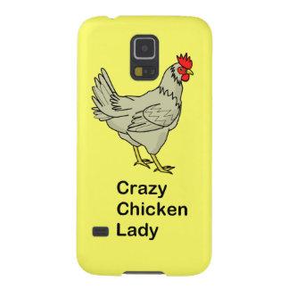 熱狂するな鶏の女性 GALAXY S5 ケース
