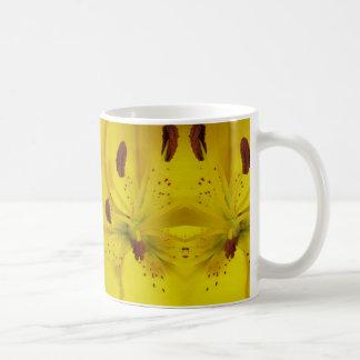 熱狂するな黄色 コーヒーマグカップ