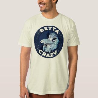 熱狂するなBetta -人のTシャツ Tシャツ