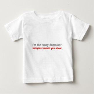 熱狂するなdomainerは皆約警告しました ベビーTシャツ