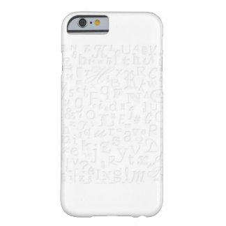 熱狂するなiPhoneの場合の手紙 Barely There iPhone 6 ケース
