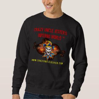 熱狂するなJesters Inferno World Black叔父さんのスエットシャツ スウェットシャツ