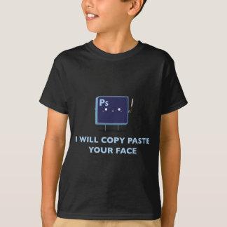 熱狂するなphotoshop tシャツ