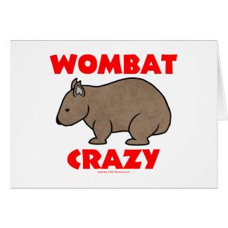熱狂するなWombat カード