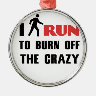 熱狂するの燃焼させる台無しになることおよび健康、 メタルオーナメント
