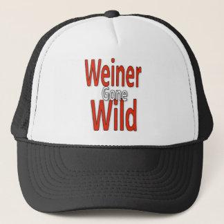 熱狂するウィーナー キャップ