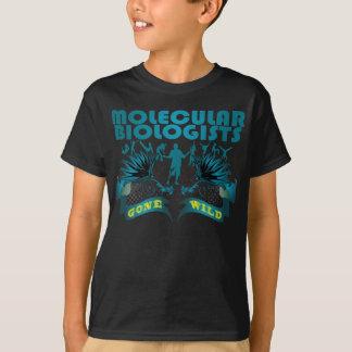熱狂する分子生物学者 Tシャツ